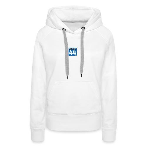 mndu44 - Sweat-shirt à capuche Premium pour femmes