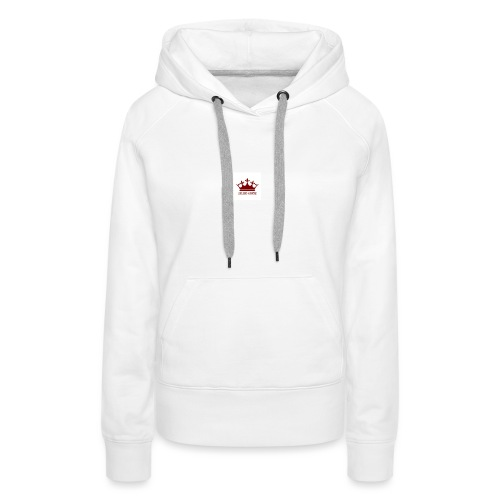 Red BGC Crown - Women's Premium Hoodie