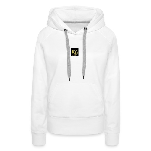 k.o-ousmanekebe - Sweat-shirt à capuche Premium pour femmes