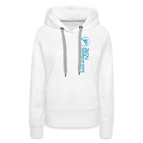 logo wortbild quer - Frauen Premium Hoodie