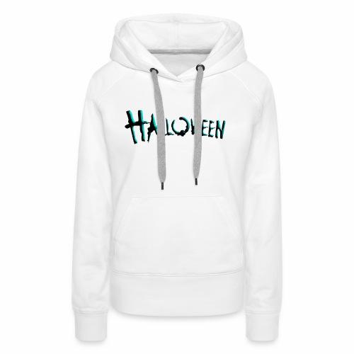 Halloween 'Tee' - Sweat-shirt à capuche Premium pour femmes