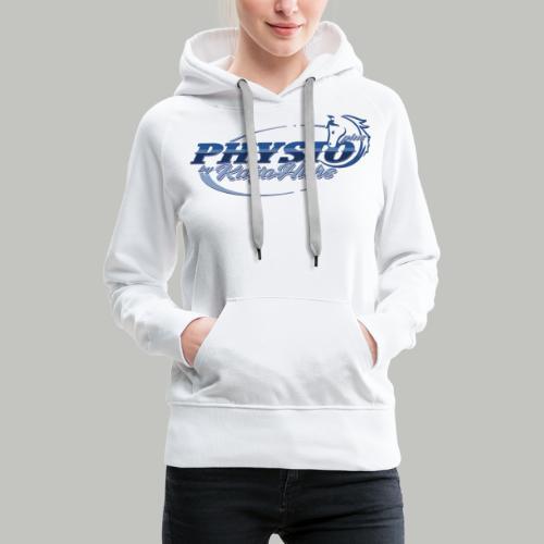 PHYSIOplus_2021-(Bitte max. 40° verkehrt waschen) - Frauen Premium Hoodie
