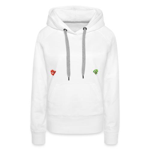 hoodie fluffy red - Frauen Premium Hoodie