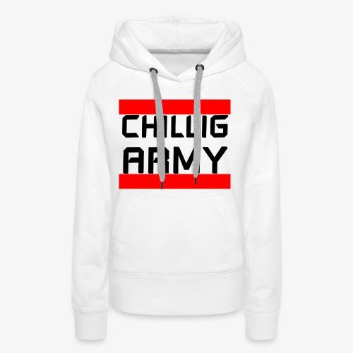 Chillig Army - Frauen Premium Hoodie