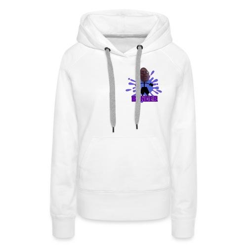 Banger (Purple) - Premiumluvtröja dam