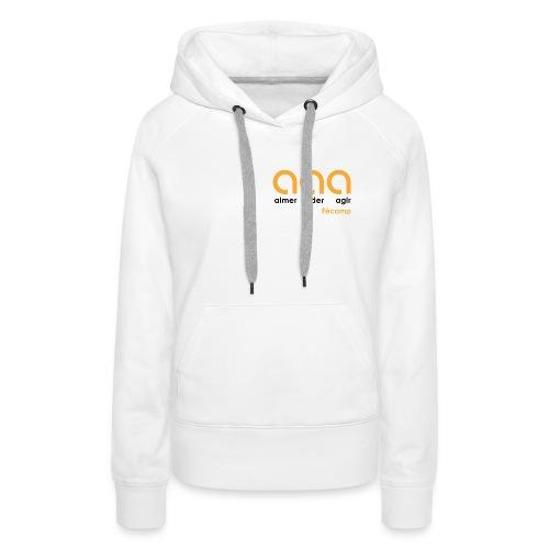 Aimer Aider Agir Fécamp - Sweat-shirt à capuche Premium pour femmes