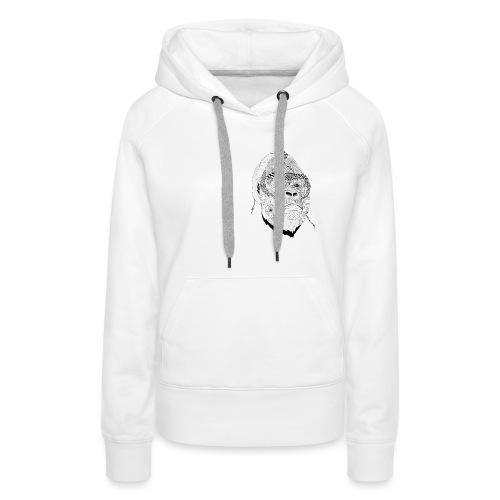 KONG - Sweat-shirt à capuche Premium pour femmes