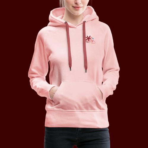 Yhead - Sweat-shirt à capuche Premium pour femmes