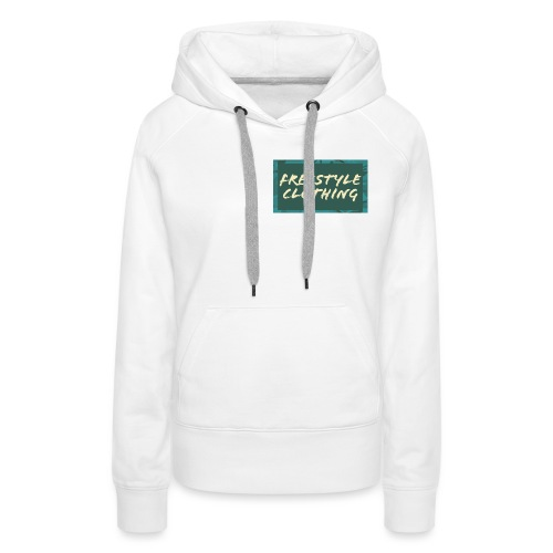 LIMITED EDITION 'Freestyle Clothing' Camo Logo - Women's Premium Hoodie