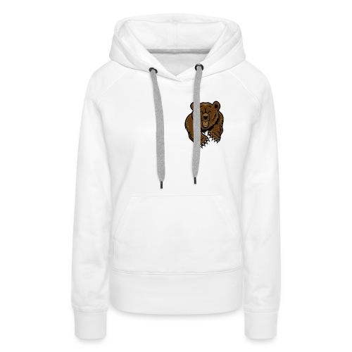 grizzly bear clip art 271767 png - Women's Premium Hoodie