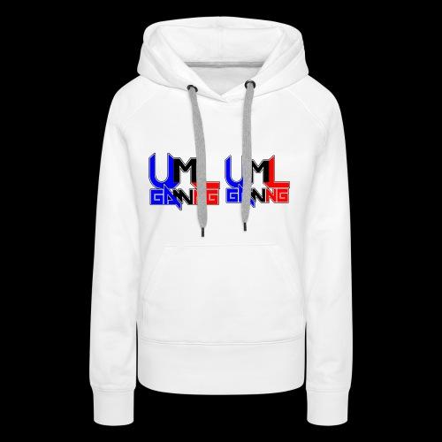 uml gaming Logo - Women's Premium Hoodie