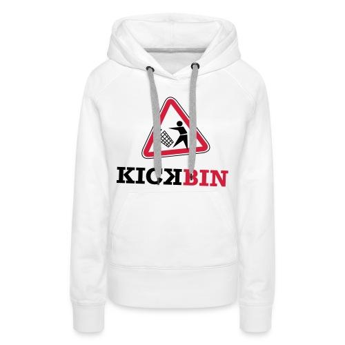 KICKBIN Shirt - Frauen Premium Hoodie