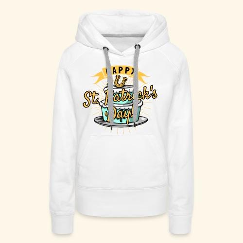 Happy St.Patricks Day T-Shirt - Frauen Premium Hoodie