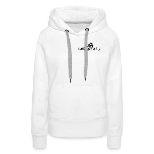 Schriften_Vaihingen_adF - Frauen Premium Hoodie