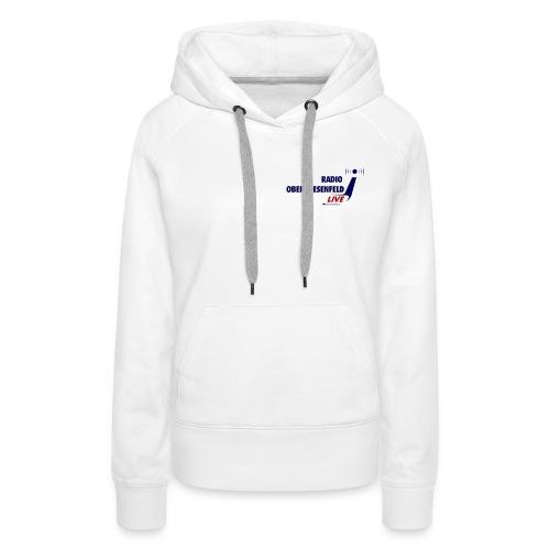 Logo dunkel - Frauen Premium Hoodie