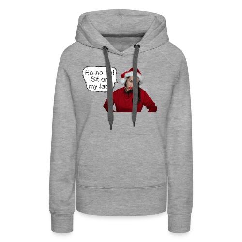 sitonmylap02 - Women's Premium Hoodie