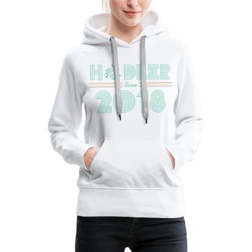 IOTA Hodler since 2018 - Frauen Premium Hoodie