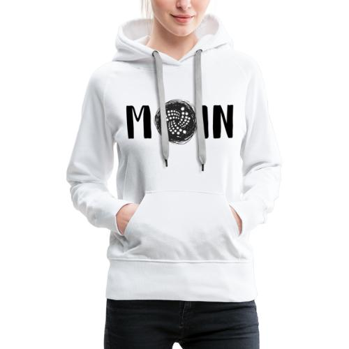 MOIN IOTA | BTC, Kryptowährung | IOTA Shirt - Frauen Premium Hoodie