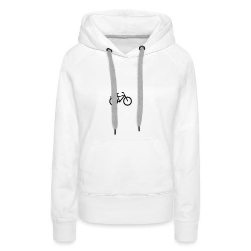 BCL Shirt Back White - Women's Premium Hoodie