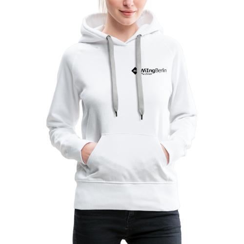AGWiIng Logo + Baer - Frauen Premium Hoodie