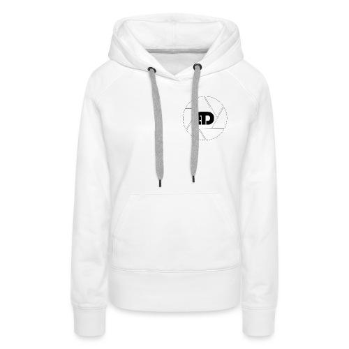 BD Logo schwarz - Frauen Premium Hoodie
