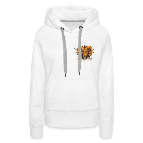 TFS Original Marron - Sweat-shirt à capuche Premium pour femmes