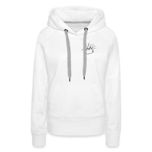 Couronne SimplyCity - Sweat-shirt à capuche Premium pour femmes