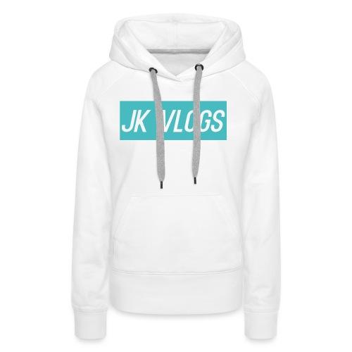 JK Vlogs Logo 2 - Women's Premium Hoodie