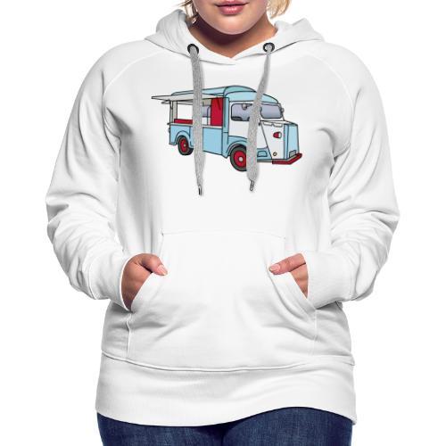 Imbisswagen Foodtruck c - Frauen Premium Hoodie