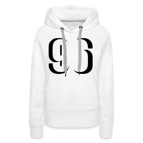 Baseshirt 96 - Frauen Premium Hoodie