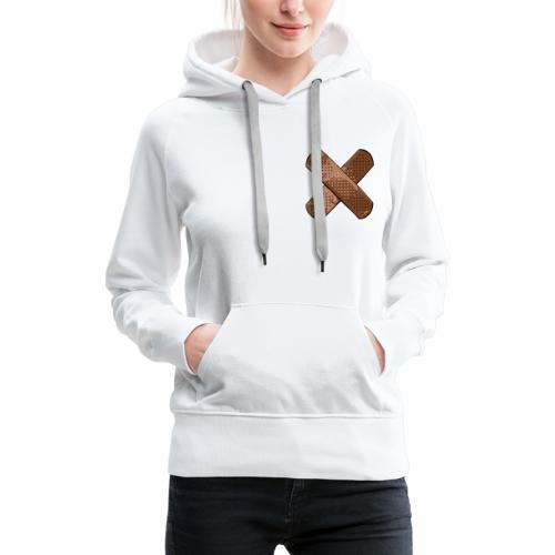 bandaid - Vrouwen Premium hoodie