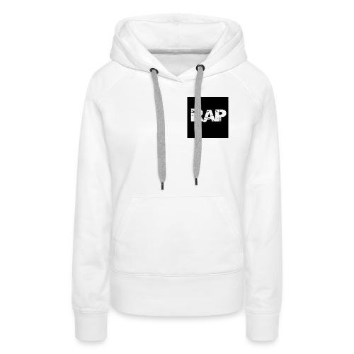 Rap - Logo - Women's Premium Hoodie