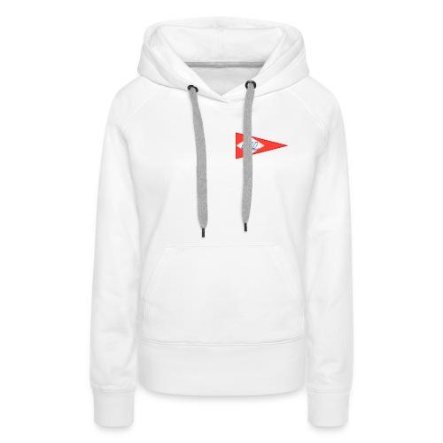 guidon dessin - Sweat-shirt à capuche Premium pour femmes