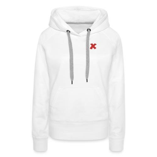 X - Frauen Premium Hoodie