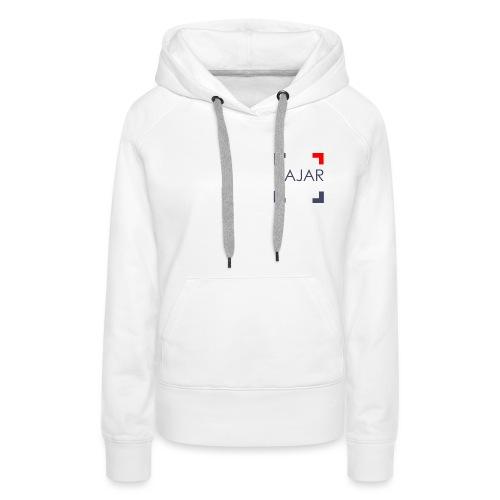 AJAR Logo - Sweat-shirt à capuche Premium pour femmes