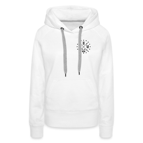 Waltherman logo flèches - Sweat-shirt à capuche Premium pour femmes