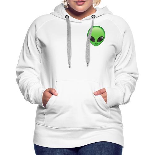 Alien face - Premiumluvtröja dam