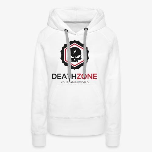 DeathZone Logo Avatar - Bluza damska Premium z kapturem