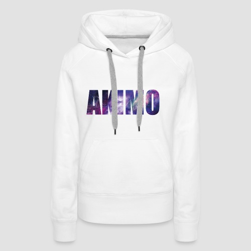 AKIMO Basic Galaxy - Frauen Premium Hoodie