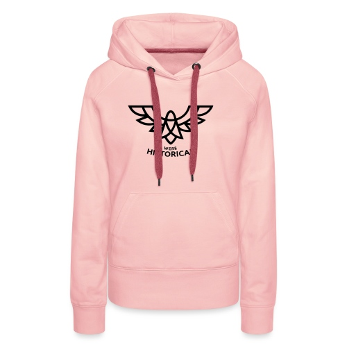 Text & Logo - Women's Premium Hoodie