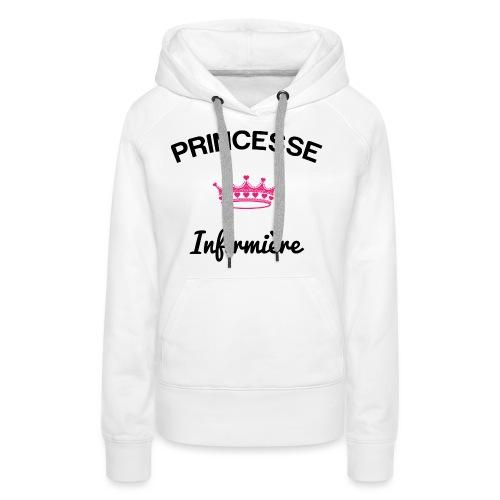 princesse team nurse - Sweat-shirt à capuche Premium pour femmes
