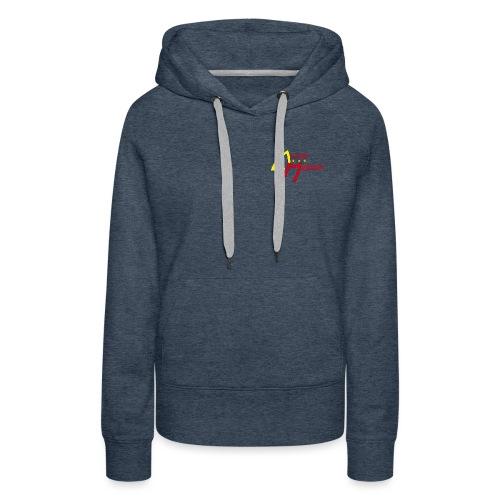 logo aviron majolan png - Sweat-shirt à capuche Premium pour femmes