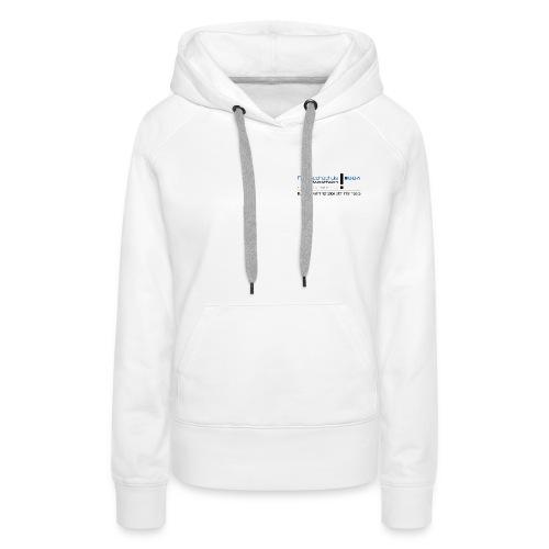 BBA reines Logo lang png - Women's Premium Hoodie