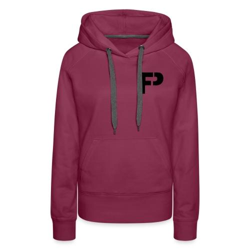 logo bij borst - Vrouwen Premium hoodie