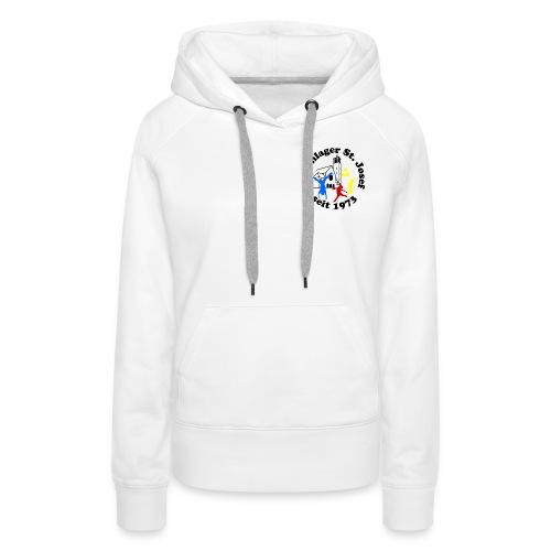 Logo Gif schwarz farbig 120dpi 2000px - Frauen Premium Hoodie