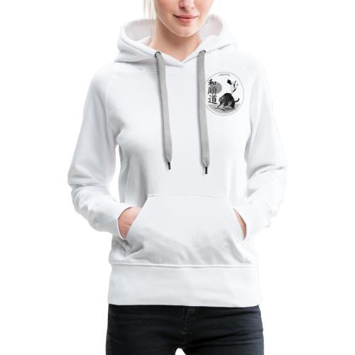 WaJunDo Self-Defense et Arts Martiaux - Sweat-shirt à capuche Premium pour femmes