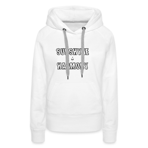 ALIENSHY - Sweat-shirt à capuche Premium pour femmes