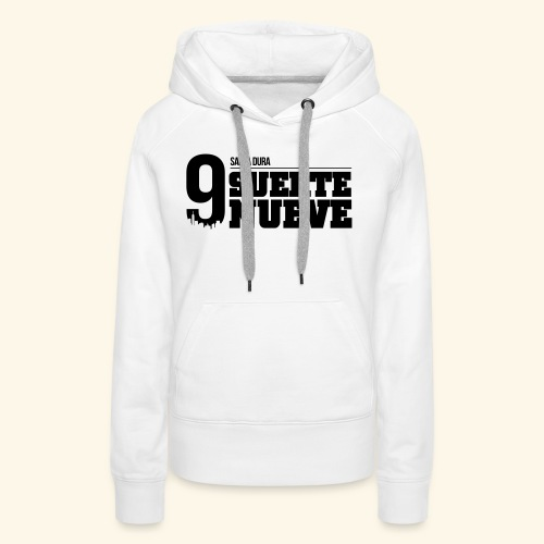 Logo Suerte - Sweat-shirt à capuche Premium pour femmes