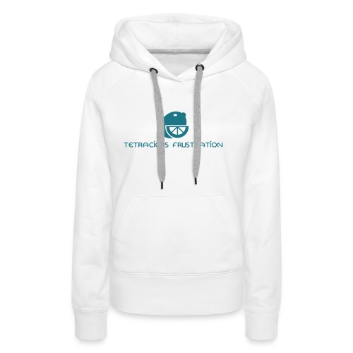 Coloured Tetracious Logo - Women's Premium Hoodie