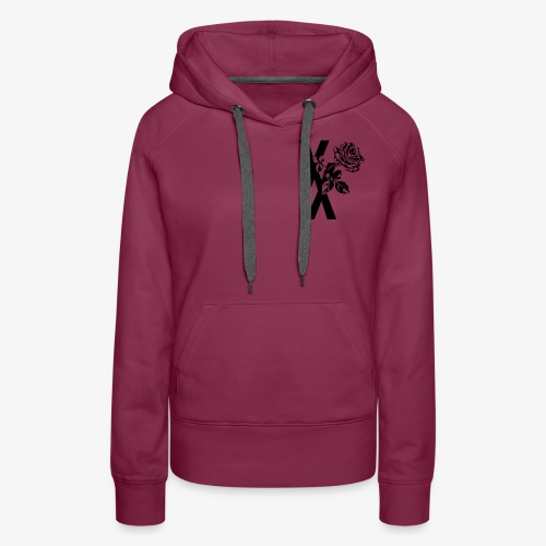 EST19XX ROSE - Vrouwen Premium hoodie